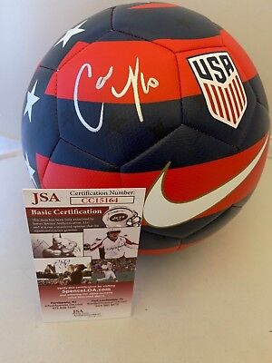 2d493b64c Carli Lloyd signed Size 5 Nike USA Prestige Soccer Ball Team USA Womens JSA
