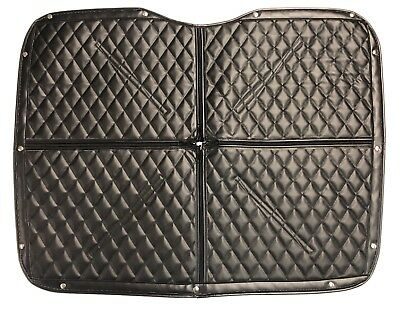 Peterbilt 384 / 386 Premium Quilted Winter Front - 20 Colors Available