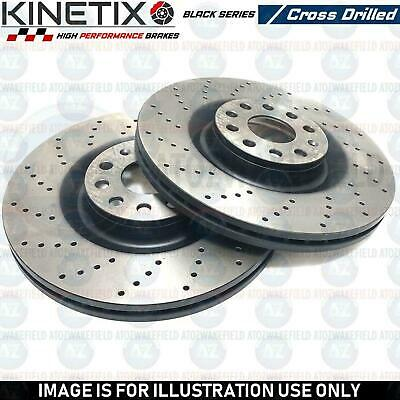 FOR VAUXHALL OPC CORSA E 1.6 VXR 2015- FRONT PERFORMANCE BRAKE DISCS PAIR 330mm