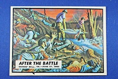 "1962 Topps Civil War News - #24 ""After The Battle"" - Excellent++ Condition"