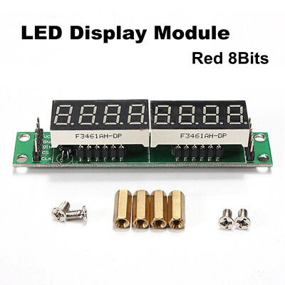 Durable MAX7219 8-Bit 7 Segment Red LED Display Tube Module Board For Arduino