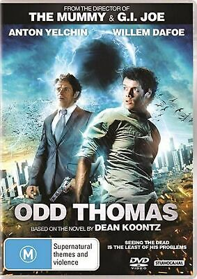 Odd Thomas DVD Region 4 NEW
