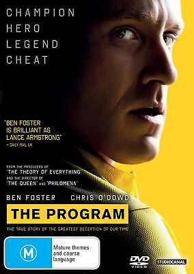 The Program DVD Region 4 NEW