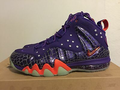 6ef634735914d NIKE BARKLEY POSITE MAX COURT PURPLE-TEAM ORANGE SZ 10.5  555097-581