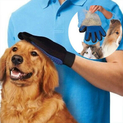 New Pet Dog Hair Brush Glove For Pet Cleaning Massage Grooming Comb Supply Finge