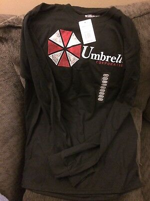 Resident Evil Umbrella Corp T-Shirt Medium Official