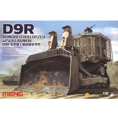 Meng Model SS-010 1/35 D9R armored bulldozer grille armor