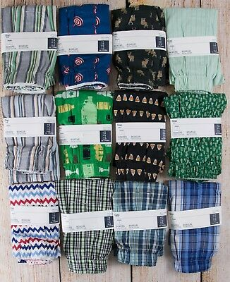 NIP Mens GAP Boxers 100% Cotton Choose Size and Pattern