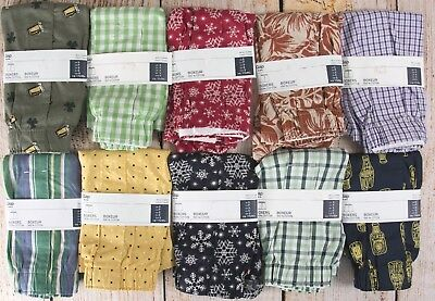 NIP Mens GAP Boxers 100% Cotton Choose Pattern and Size