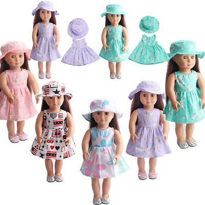 Cute Outfits Dress Clothes for 18'' US Girl Our Generation My Life Doll
