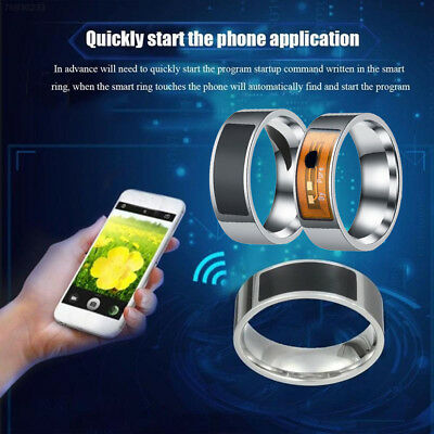 A53C Smart Ring Magic Ring NFC Finger Ring Wearable Devices Black Waterproof