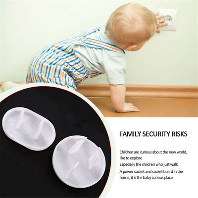 20 X Plug Socket Cover Baby Proof Child Safety Protector Guard Electrical