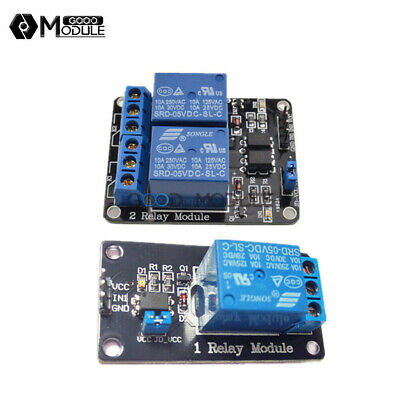 1/2/5/10PCS 5V 1/2 Channel Isolated Relay Module With Optocoupler FOR Arduino