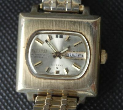 Rare Vintage Seiko 2706-7000 Hi Beat Womens Ladies Automatic Watch 21 Jewels