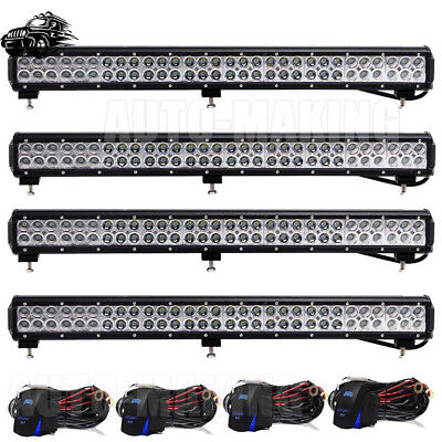 28 Inch 180W LED Light Bar Combo Beam Fit Off road Truck Boat SUV Fog Jeep Dodge