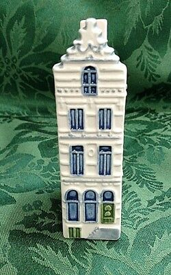 Vingage Amsterdam Singel Royal Goedewaagen Poly Delft Mini House S 107