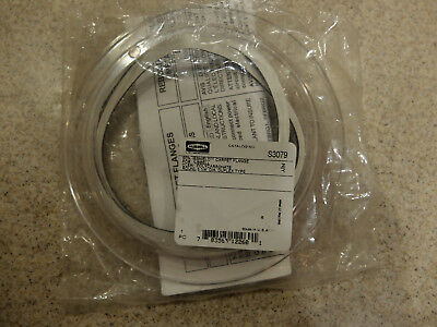 Hubbell Wiring Systems S3079 Polycarbonate Flush Floor Box Round Carpet Flange
