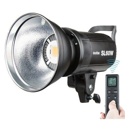 Godox SL-60W 5600K LED Studio Video Light Photography Lighting Bowens Mount