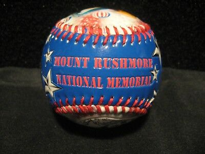 NEW! South Dakota Mount Rushmore National Memorial Souvenir Baseball