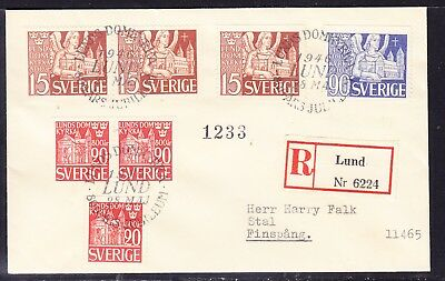 Sweden 1946 - 800th Anniversary  Lunn Cathedral R6224 Cover
