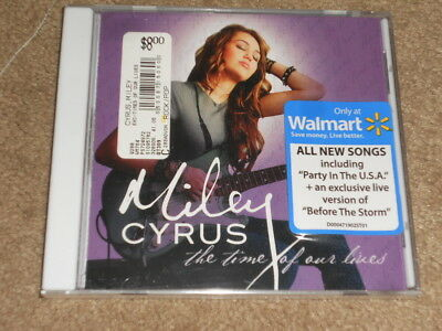 The Time of Our Lives by Miley Cyrus (CD, Aug-2009, Hollywood)