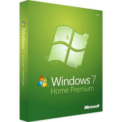 Windows 7 Home Premium 32 & 64 Bit - Neu & Original - Vollversion Key - Download