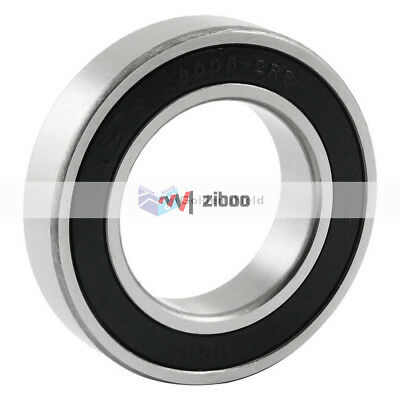 6008 2RS Single Row Shielded Deep Groove Ball Bearing 40mmx68mmx15mm