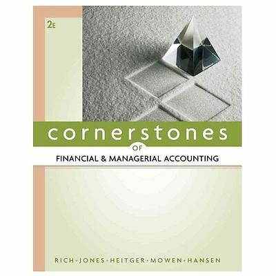 Managerial Accounting: Cornerstones of Financial and Managerial Accounting by...