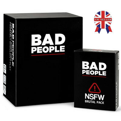 Bad People Game Funny Board Game Card Friend Family Party Play Basic &Expansion