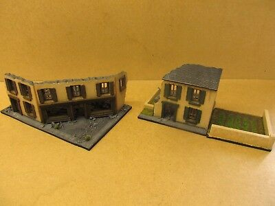 20MM / 1:72ND Ww2 Wargames Buildings Scenery Terrain France Ruin Ruined