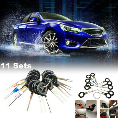 Car Plug Terminal Extraction Pick Back Needle Wire Harness Connector Crimp Tool