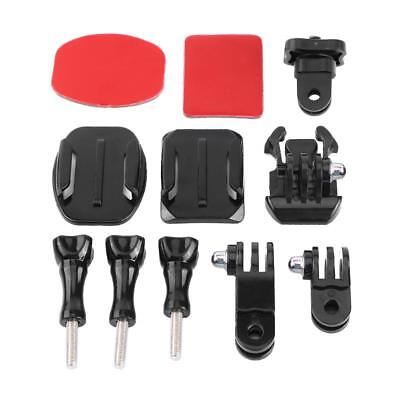 11 in 1 Action Camera Accessories Curve Mount Quick Release Buckle For GoPro GMK