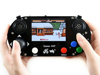 Waveshare Video Game HAT for Raspberry Pi 3.5inch IPS screen 480×320 resolution