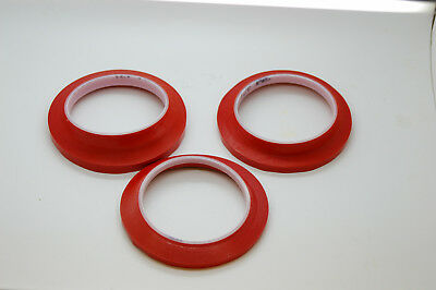 *DEFORMED* DAMAGED***3M™ 471 Vinyl Tape RED Masking Tape Tape 33m Long *CHEAP*