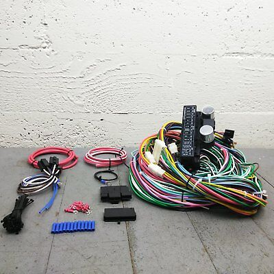 1957 - 1966 Ford Truck Wire Harness Upgrade Kit fits painless terminal update