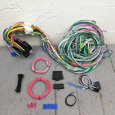 new 66 67 fairlane fuse box terminal repair kit falcon comet 66 68 1967 Ford Fairlane Door Hinge 1966 1967 ford fairlane and comet wire harness upgrade kit fits painless fuse