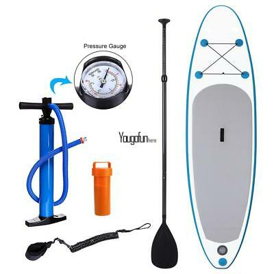 "Ancheer Adjustable Paddle Board ISUP 10"" Inflatable Stand Up Board SUP Hand Pum#"