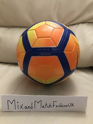 f2e4c84bccf2 NIKE WINTER ORDEM 4 Match Ball 16 17 PSC512-801 FIFA APPROVED Size 5 ...