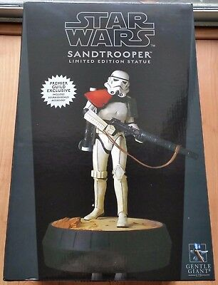 PGM EX # 59/60 Gentle Giant Star Wars Sandtrooper Statue 1/6 Scale Stormtrooper