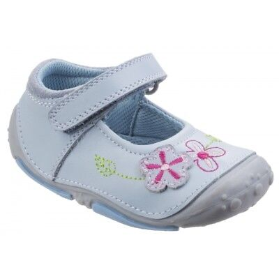 Hush Puppies LARA Girls Kids Floral Mary Jane Casual Toddler Shoes Light Blue
