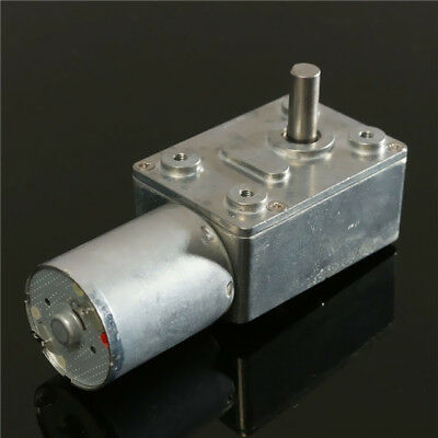 12V 6rpm Reversible High torque Turbo Worm Geared Motor DC GW370