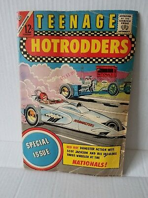 Teenage Hotrodders #6  1964 Special Issue!  'dragster Action'