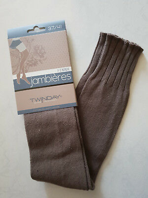 Jambieres Femme Marque Twinday Taille 37/41 78% Coton