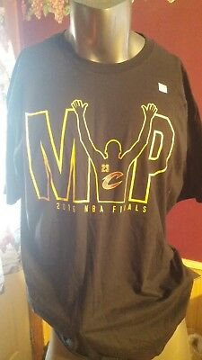 0fbded97330 Adidas 2016 NBA Finals LeBron James MVP T Shirt XL XLarge New Without Tags