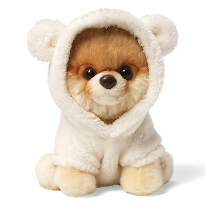 "GUND 5"" Itty Bitty Boo The World's Cutest Dog in Bear Suit Soft Toy Plush"