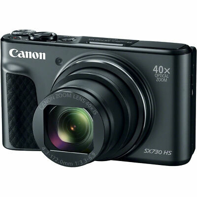 Canon PowerShot SX730 HS Digital Camera (Black) - AWESOME HOLIDAY DEAL!