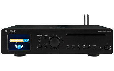 Block CVR-10 CD-Internet-Receiver/Streamer, schwarz (UVP: 999,- €)