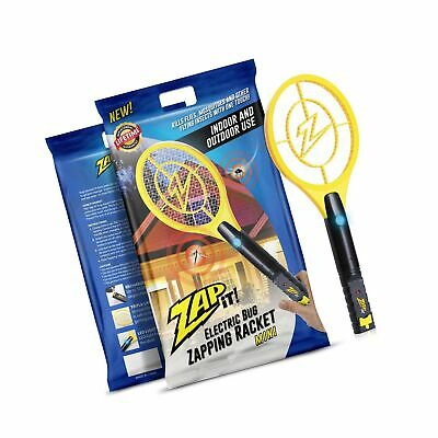 Zap It! Bug Zapper Racket Mini, 4000V, USB Rechargeable