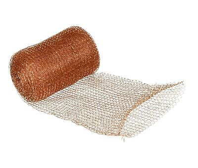 FlyBye DS8015 Copper Mesh for Pests and Bird Control, 20 ft.
