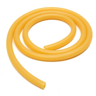 8mm100cm Rubber Hose Amber Latex Tube Bleed Lab Supplies